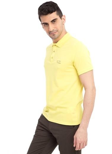 Kiğılı Tişört Sarı